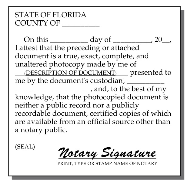 A Mobile Notary Service Company